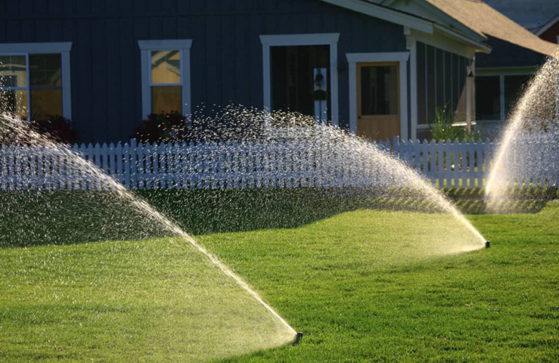 Yard Irrigation System