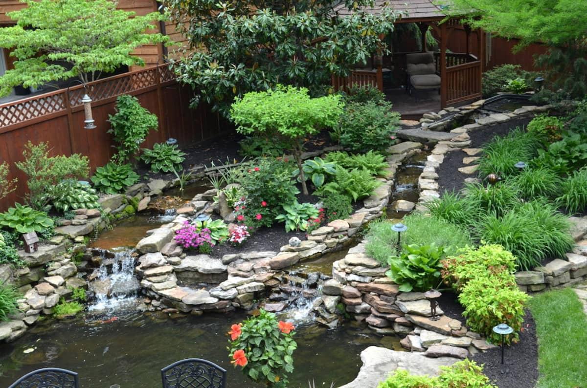 hardscape pond