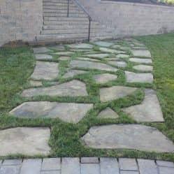 hardscaping pathway