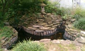 pond hardscaping