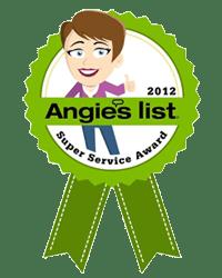 angies list super service award 2012