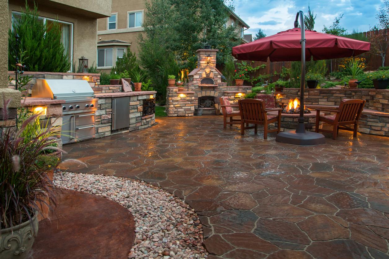 Beautiful Backyard Patio